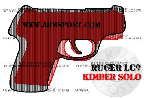 Ruger LC9 vs Kimber Solo size comparison triggers