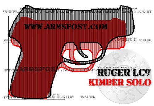Ruger LC9 vs Kimber Solo Size Comparison