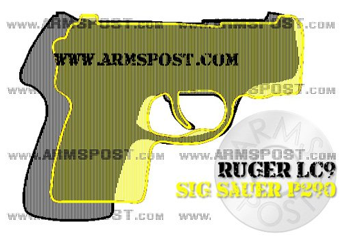 Ruger LC9 vs Sig Sauer P290 size comparison triggers